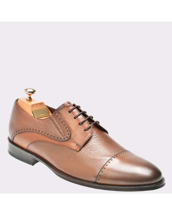 Pantofi LE COLONEL maro, 42224, din piele naturala