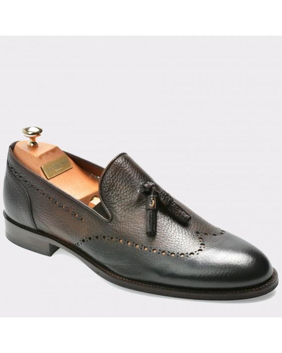 Pantofi LE COLONEL maro, 45202, din piele naturala