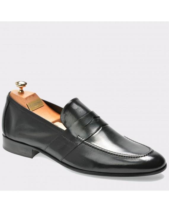 Pantofi LE COLONEL negri, 48303, din piele naturala
