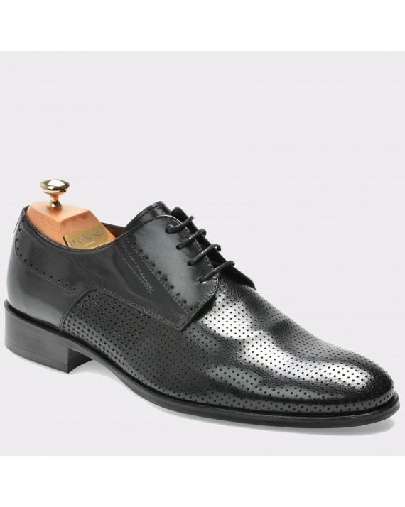 Pantofi LE COLONEL negri, 48605, din piele naturala