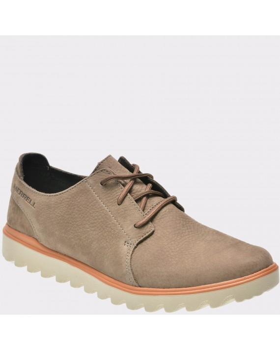 Pantofi MERRELL maro, Dowsula, din nabuc