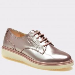 Pantofi pentru copii GEOX roz, J824Fc, din piele ecologica