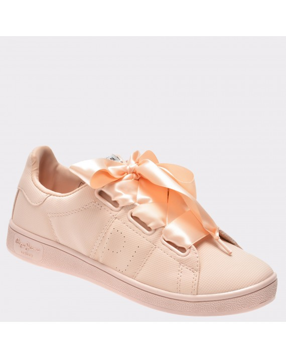 Pantofi PEPE JEANS roz, Ls30667, din piele ecologica
