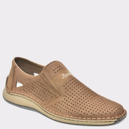 Pantofi RIEKER maro, 5289, din piele naturala