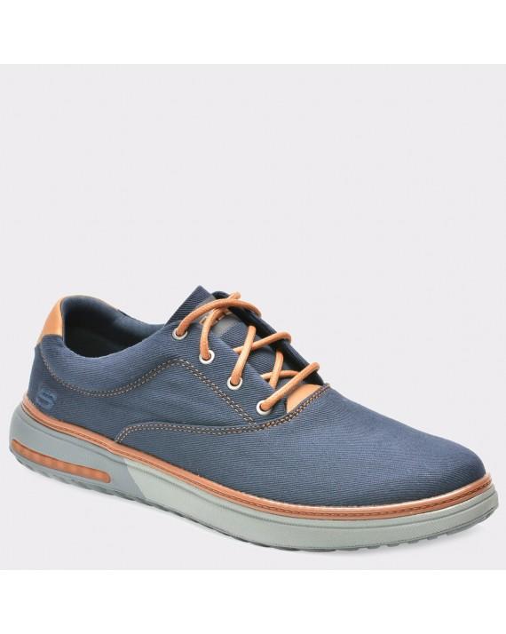 Pantofi SKECHERS bleumarin, 65370, din canvas