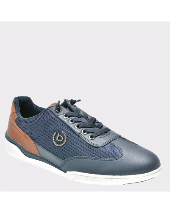 Pantofi sport BUGATTI bleumarin, 46503, din material textil