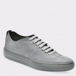 Pantofi sport HUGO BOSS gri, 56119, din piele ecologica