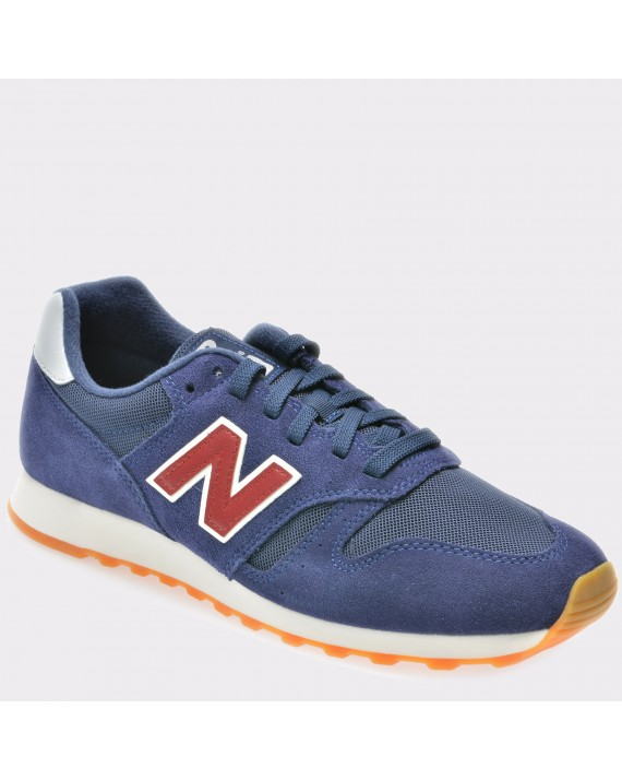 Pantofi sport NEW BALANCE bleumarin, Ml373, din piele intoarsa