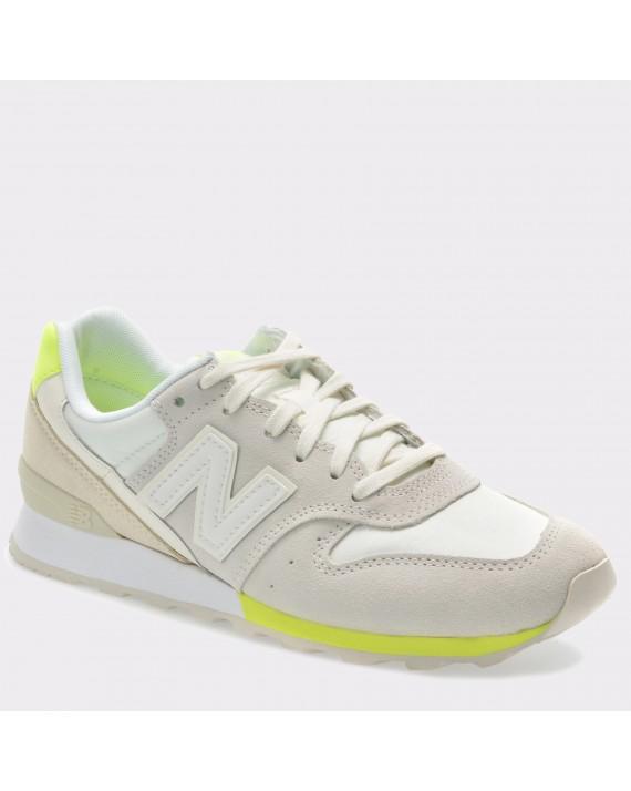 Pantofi sport NEW BALANCE gri, Wr996, din piele intoarsa