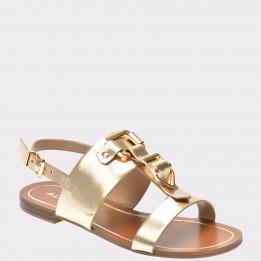 Sandale ALDO aurii, Afiarien, din piele ecologica