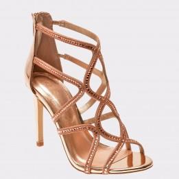 Sandale ALDO aurii, Asteicia , din piele ecologica