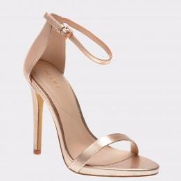 Sandale ALDO aurii, Caraa, din piele ecologica