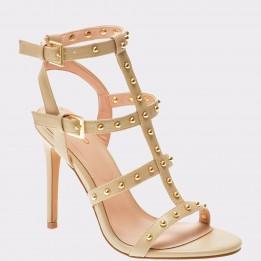 Sandale ALDO crem, Ostenson, din piele ecologica