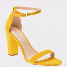 Sandale ALDO galbene, Myly, din piele naturala