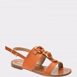Sandale ALDO maro, Afiarien, din piele ecologica