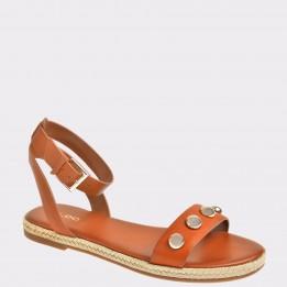Sandale ALDO maro, Alaeniel, din piele naturala
