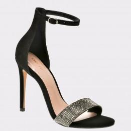 Sandale ALDO negre, Kedurith, din piele naturala