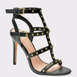 Sandale ALDO negre, Ostenson, din piele ecologica