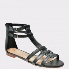 Sandale ALDO negre, Richland, din piele naturala