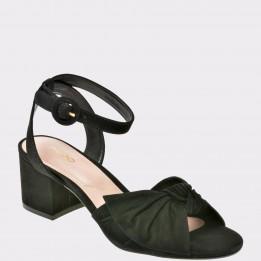 Sandale ALDO negre, Sicinski, din piele naturala