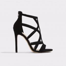 Sandale ALDO negre, Tifania, din piele ecologica