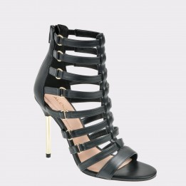 Sandale ALDO negre, Unaclya, din piele ecologica