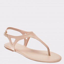 Sandale ALDO nude, Laughlin, din piele ecologica