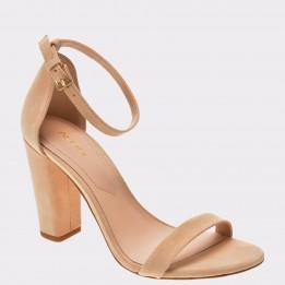 Sandale ALDO nude, Myly, din piele naturala