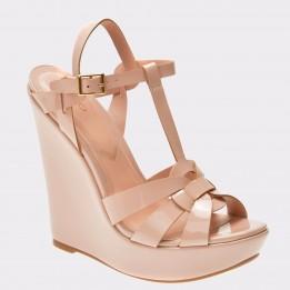 Sandale ALDO nude, Nellyy, din piele ecologica