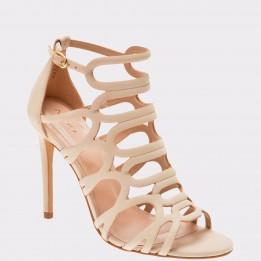 Sandale ALDO nude, Shorr, din piele naturala