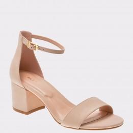 Sandale ALDO nude, Villarosa, din piele naturala