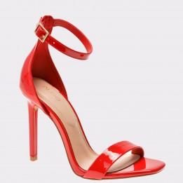 Sandale ALDO rosii, Derolila, din piele ecologica