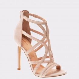 Sandale ALDO roz, Tifania, din piele ecologica