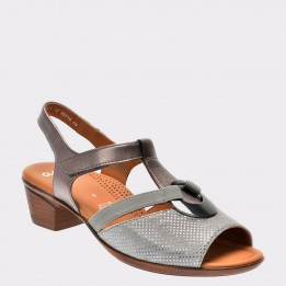 Sandale ARA gri, 35715, din piele naturala