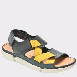 Sandale CLARKS bleumarin, 6133302, din nabuc