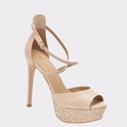 Sandale EPICA nude, 10113, din piele naturala