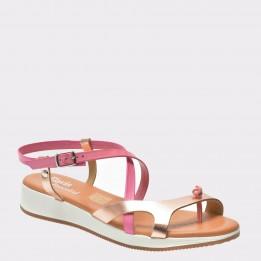 Sandale FLAVIA PASSINI roz, 1170Pes, din piele naturala