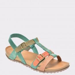 Sandale FLAVIA PASSINI verzi, 36702, din piele naturala