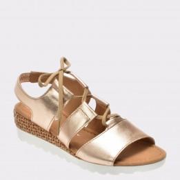 Sandale GABOR aurii, 82755, din piele naturala