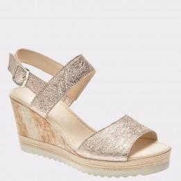 Sandale GABOR aurii, 85790, din piele naturala