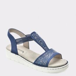 Sandale JENNY by ARA albastre, 57203, din piele ecologica