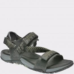 Sandale MERRELL negre, Terrcon, din material textil