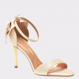 Sandale nude, 6306318, din material textil