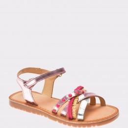 Sandale pentru copii IMAGE roz, H45247, din piele ecologica
