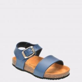 Sandale pentru copii LA COMPANIA NATURAL bleumarin, Nino, din piele ecologica