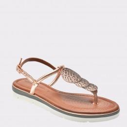 Sandale SALAMANDER aurii, 39907, din piele naturala