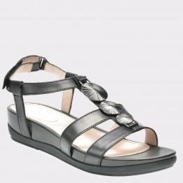Sandale STONEFLY negre, Eve13, din piele naturala