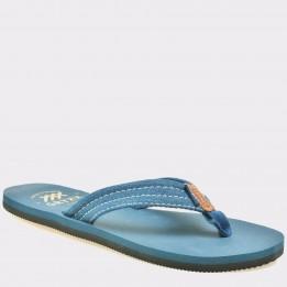 Slapi GRYXX albastri, 37082, din material textil