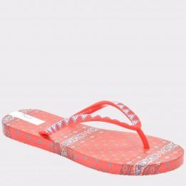 Slapi PEPE JEANS rosii, Ls70029, din PVC