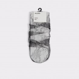 Sosete ALDO negre, Poavia, din material textil